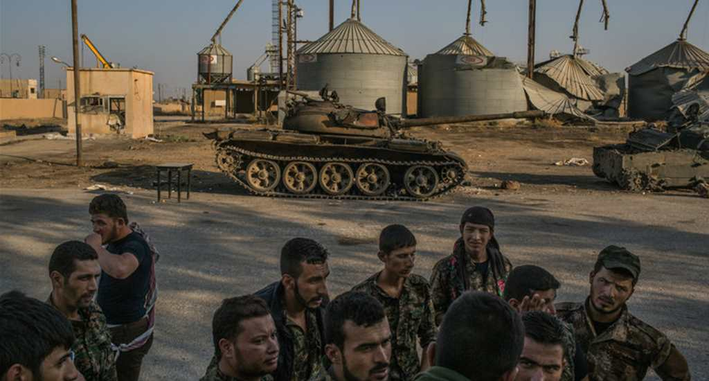 NYT - Obama Administration Considers Arming Syrian Kurds Against ISIS