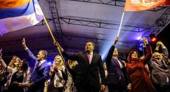 Bosnian Serbs Defy State with Referendum Landslide
