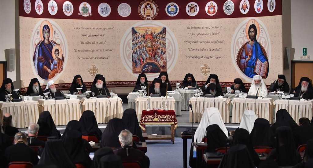 Giritte Yapılan Pan Ortodoks Konseyi